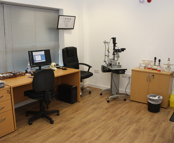 Exeter Eye Consulting Room