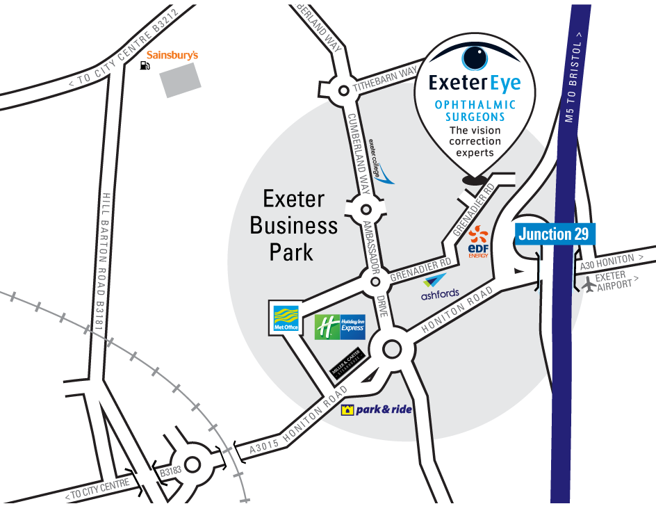 Exeter Eye Map for Exeter Eye website Sept 2018