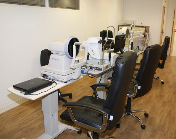 Ophthalmology Equipment at Exeter Eye for diagnosis of Eye conditions & diseases