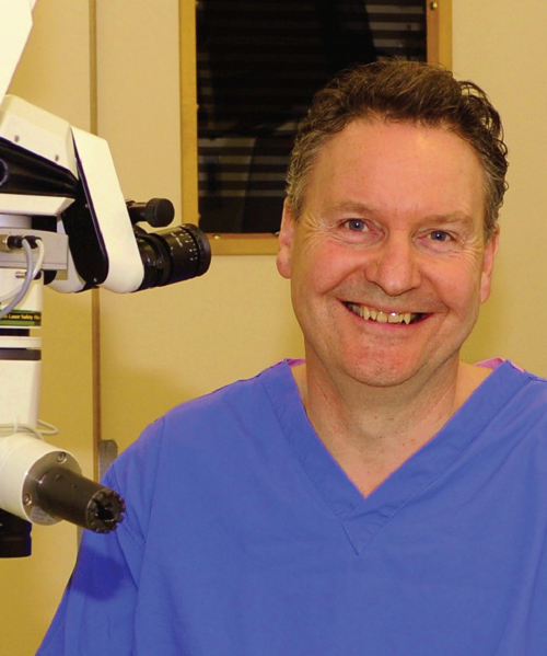 Mr Peter Simcock Exeter Eye Consultant Ophthalmic Surgeon